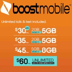 Boost mobile plan