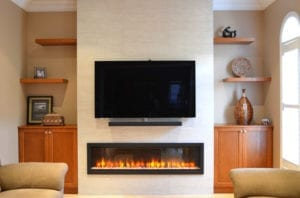 Realistic Electric Fireplace