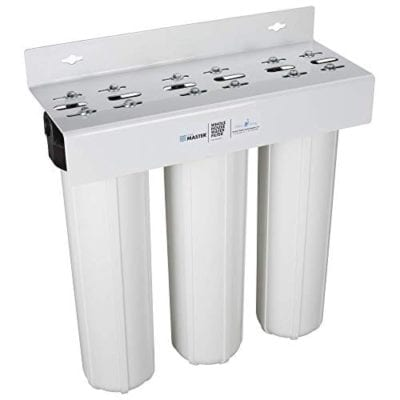 Home Master Whole House 3-Stage Water Filtration System