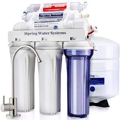 iSpring RCC7AK 6-Stage Reverse Osmosis Drinking Water Filtration System