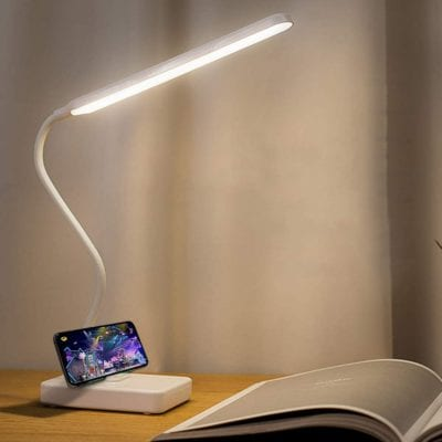 Maythank Dimmable Powered Desk Table Lamp