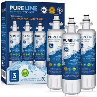 PureLine Replacement Cartridge for LG LT700P/C Water Filters