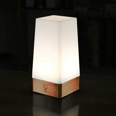 WRalwaysLX Battery Powered Small Table Lamp