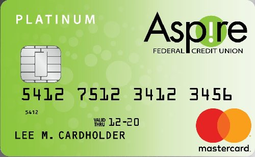 Aspire Platinum Master card