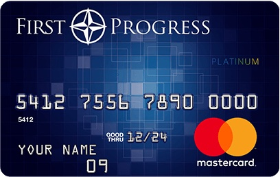 First progress master card