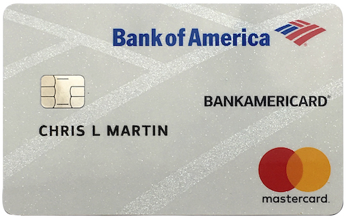 Bank of America Master Card